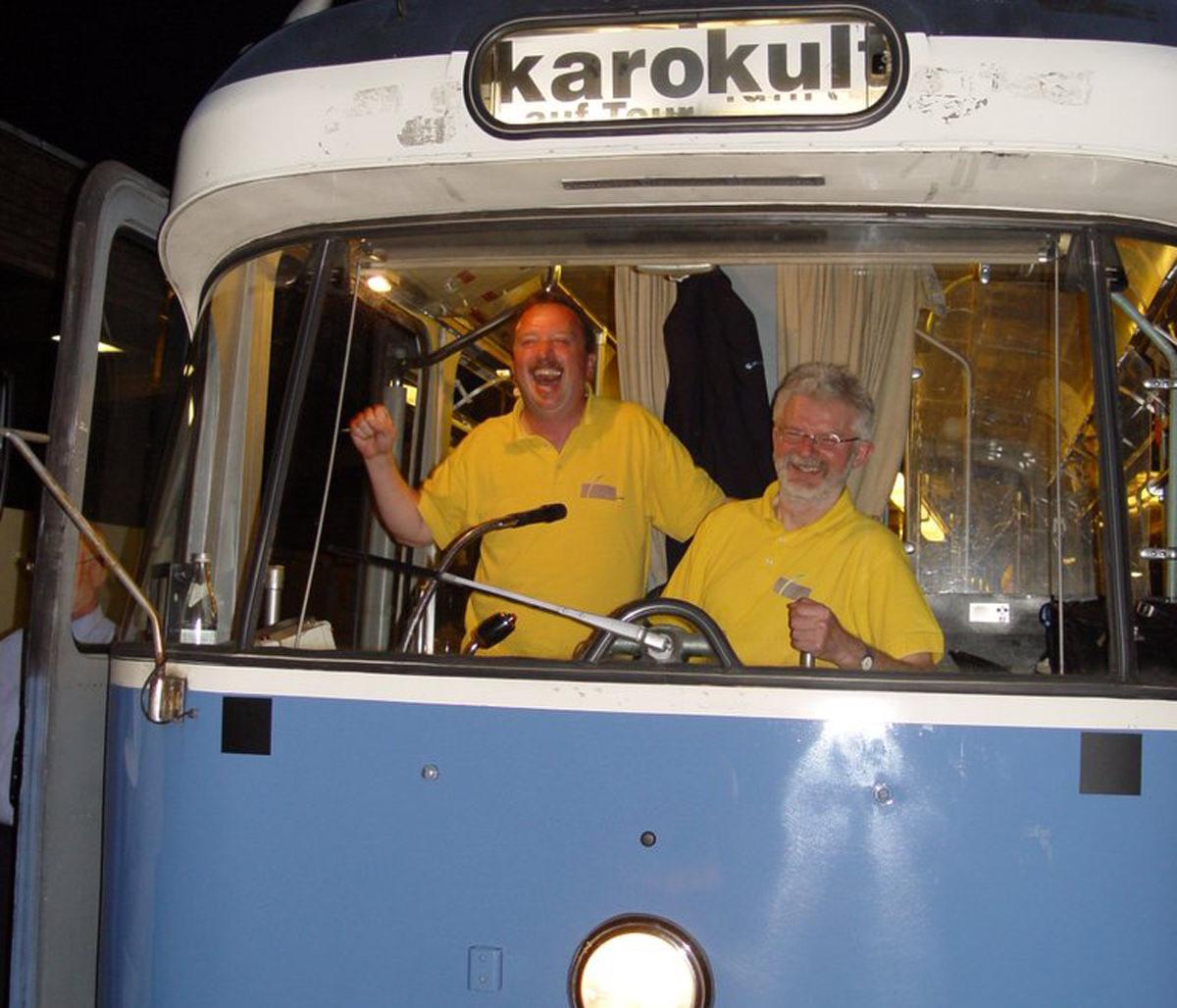 karokult Party-Tram - mit der Tram durch München